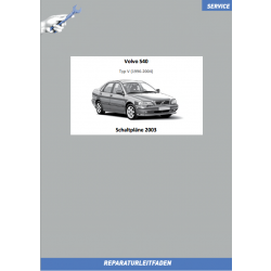 Volvo S40 (2003) Werkstatthandbuch Schaltpläne