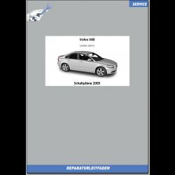 Volvo S40 (2005) Werkstatthandbuch Schaltpläne