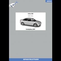 Volvo S40 (2007) Werkstatthandbuch Schaltpläne