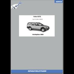 Volvo XC70 (2003) Werkstatthandbuch Schaltpläne