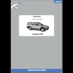 Volvo XC70 (2005) Werkstatthandbuch Schaltpläne