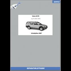 Volvo XC70 (2007) Werkstatthandbuch Schaltpläne