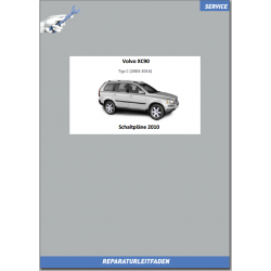 Volvo XC90 (2010) Werkstatthandbuch Schaltpläne