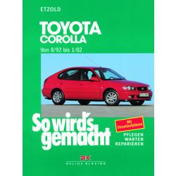 Toyota Corolla (92-02) - Reparaturanleitung So wird`s gemacht