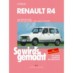 Renault R4 (10/64 - 9/86) - Reparaturanleitung