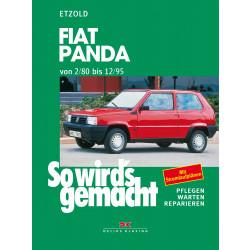 Fiat Panda (2/80 - 12/95) - Reparaturanleitung