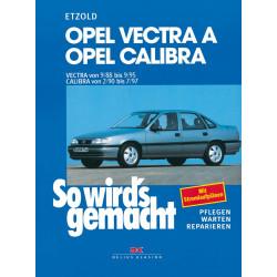 Opel Vectra A / Opel Calibra (88-97)  - Reparaturanleitung So wird`s gemacht