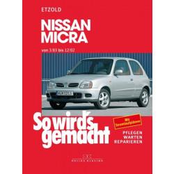 Nissan Mirca (3/83) - (10/02) - Reparaturanleitung