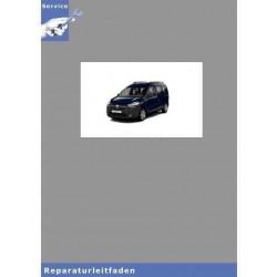 Dacia Dokker (12>) Motor K7M 1,6L 83 PS Benziner - Reparaturleitfaden