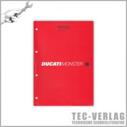 Ducati Monster 900i.e. (2001) - Werkstatthandbuch / Manuel d'ateliere