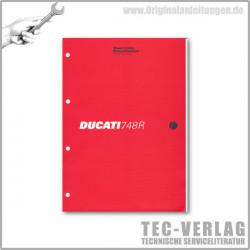 Ducati 748R (2000) - Werkstatthandbuch / Manuel d'ateliere