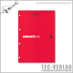 Ducati 996 996S (2001) - Werkstatthandbuch / Manuel d'atelier