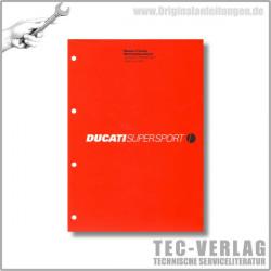 Ducati Supersport 750/750 Sport (2001) - Werkstatthandbuch / Manuel d'ateliere
