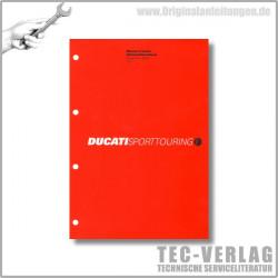 Ducati Sporttouring ST3s (2004) - Werkstatthandbuch / Manuel d'ateliere
