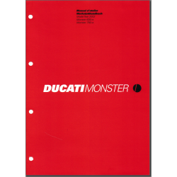 Ducati Monster 620i.e. / 750i.e. (2002) - Werkstatthandbuch / Manuel d'ateliere