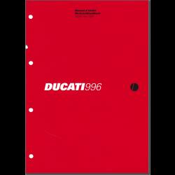 Ducati 996 (1999) - Werkstatthandbuch / Manuel d'ateliere