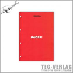 Ducati Supersport 750 (1999) - Werkstatthandbuch / Manuel d'ateliere