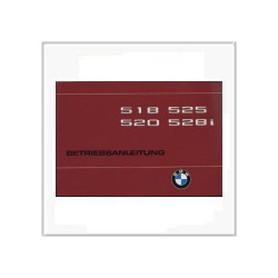BMW 5er E28 (79>) 518 / 520 / 525 / 528i - Betriebsanleitung