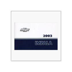 Chevrolet Impala –(03>) - Betriebsanleitung
