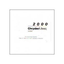 Chrysler/Jeep 2000 Diesel - Wartungspläne
