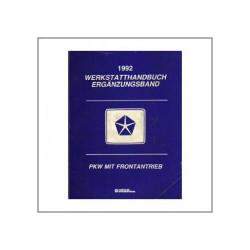 Chrysler PKW mit Frontantrieb (92) - Werkstatthandbuch Ergänzungsband