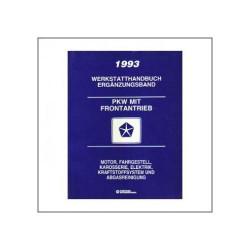 Chrysler PKW mit Frontantrieb (93) - Werkstatthandbuch Ergänzungsband