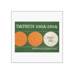 Datsun 100A/120A - Betriebsanleitung