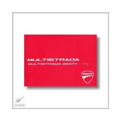 Ducati Multistrada 1200 S Touring (03>) Manuel d utilisation et entretien