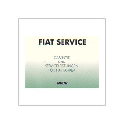 Fiat - Garantie und Serviceleistungen