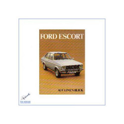 Ford Escort (ab 1978) - Kurzanleitung in Posterform