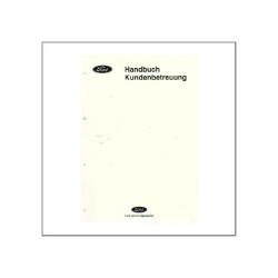 Ford Kundenbetreuung - Handbuch