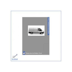Ford Transit (06>) Schaltgetriebe MT75 - Werkstatthandbuch