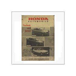 Honda 1973 - 1980 - Werkstatthandbuch