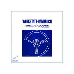 Honda Accord 1,6 SY (>82) - Werkstatthandbuch Nachtrag
