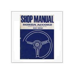 Honda Accord 1982 - Fahrgestell Reparaturanleitung