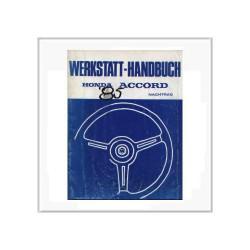 Honda Accord 1983 - Nachtrag Werkstatthandbuch