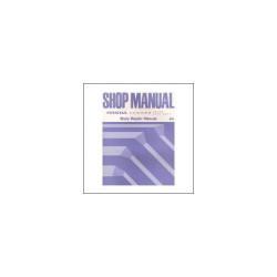 Honda Accord Coupe Aero Deck (94>) - Shop Manual