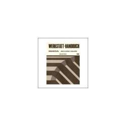 Honda Accord Coupe - Werkstatthandbuch - Nachtrag