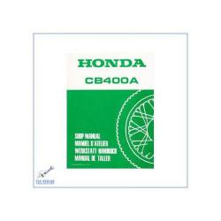 Honda CB 400 A / CB 400 Automatic (>77) - Ergänzung zum Werkstatthandbuch