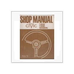 Honda Civic 1200 / 1500 Wagon - Werkstatthandbuch