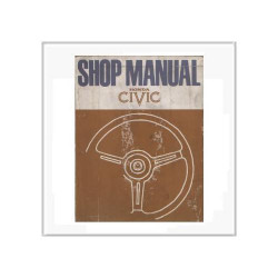 Honda Civic - Werkstatthandbuch