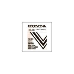 Honda EM 1500x/1800x/2200x/2500x - Werkstatthandbuch - Nachtrag