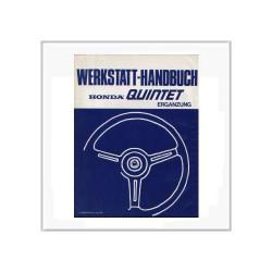 Honda Quintet - Ergänzung Werkstatthandbuch