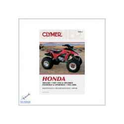 Honda TRX250X (87-92) TRX300EX (93-06) - Repair manual