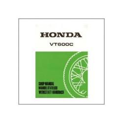 Honda VT600C (88>) - Werkstatthandbuch - Nachtrag