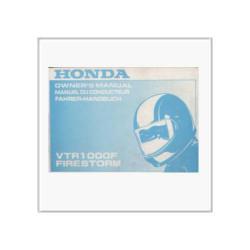 Honda VTR 1000 F Firestorm - Betriebsanleitung