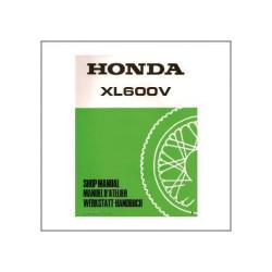 Honda XL600V (88>) - Werkstatthandbuch - Zusatz