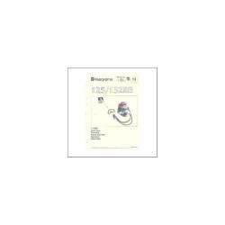 Husqvarna 125/132RB - Ersatzteilliste