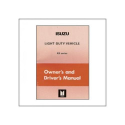 Isuzu KB Light-Duty-Vehicle (>82) - Owner`s Manual