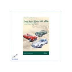 Jaguar (1968 - 1979) - Werkstatthandbuch Vol. 2, Teilelisten und Rundmeldungen auf CD